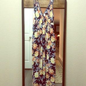 NEW flora maxi dress